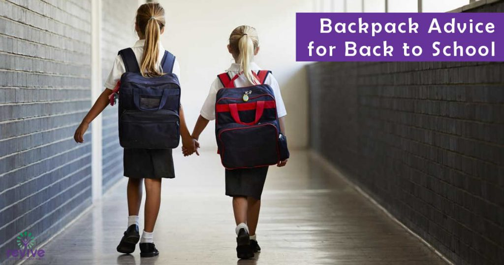 Backpack Advice for Back To School