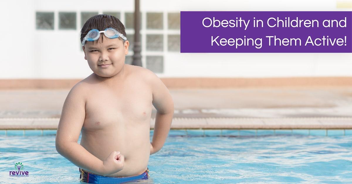 Obesity in children and keeping children active