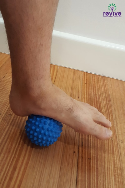 Spikey Ball Foot Release