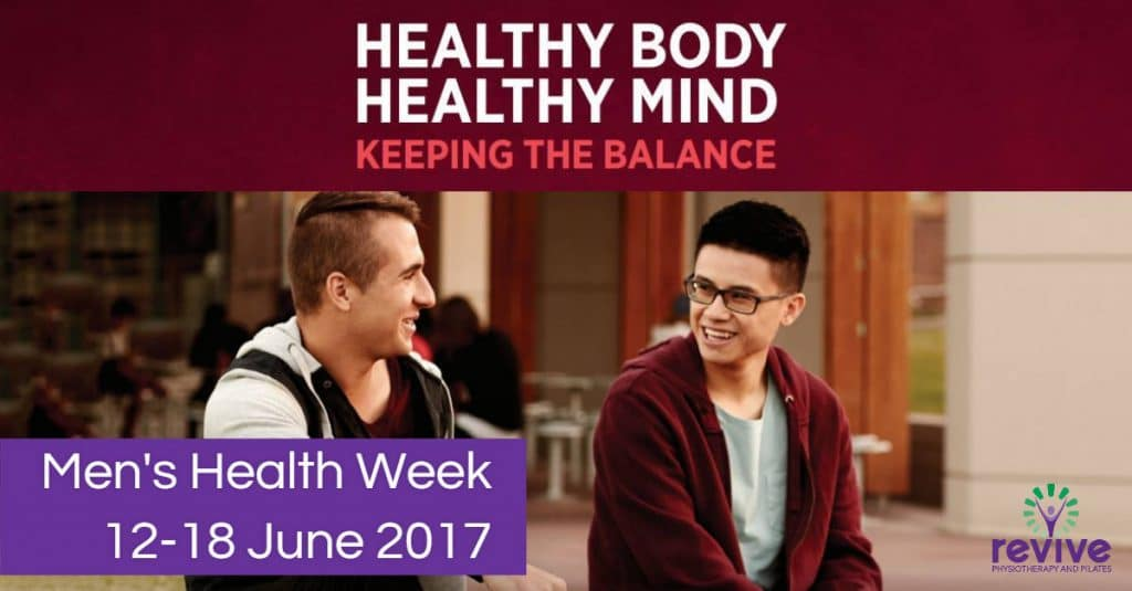 Mens Health Week - Revive Physiotherapy and Pilates